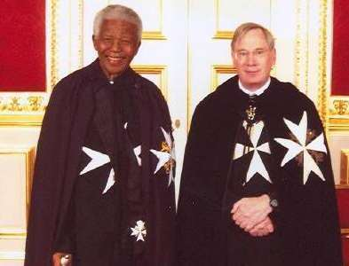 nelson mandela knights of malta