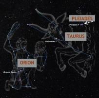 ORION-TAURUS-PLEIADES