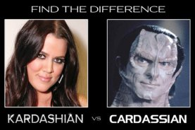 Kardashian vs Cardassian