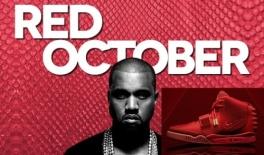 Nike Kanye West Red October
