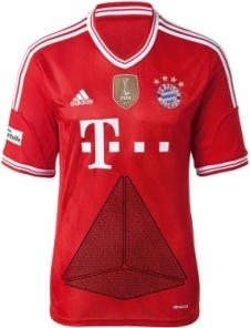FC Bayern Trikot Deutsche Sporthilfe