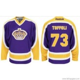 toffoli 73 pruple yellow la kings